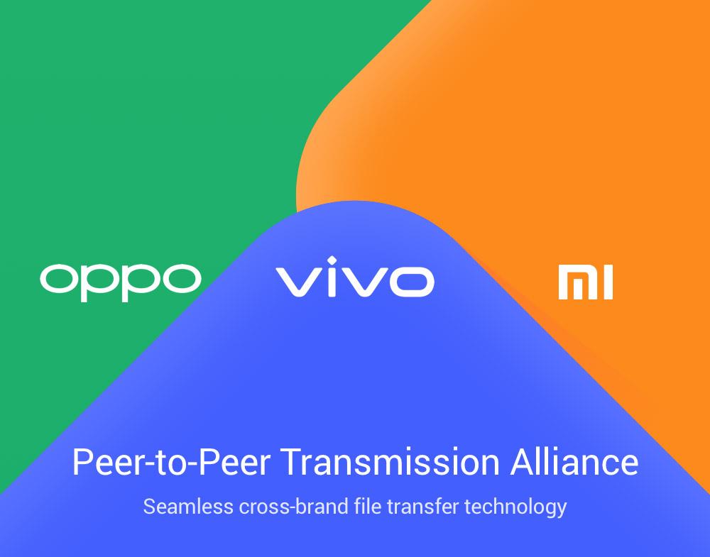 Между смартфонами Vivo, OPPO и Xiaomi можно будет передавать файлы а-ля AirDrop