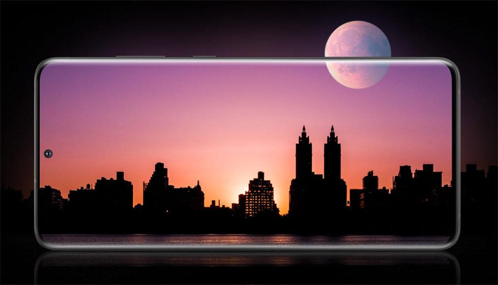 Samsung Galaxy S20 Дисплей