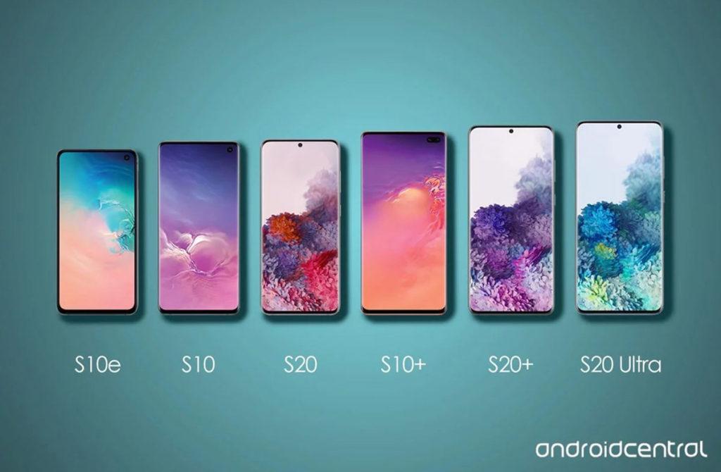 Samsung Galaxy S20 отличия
