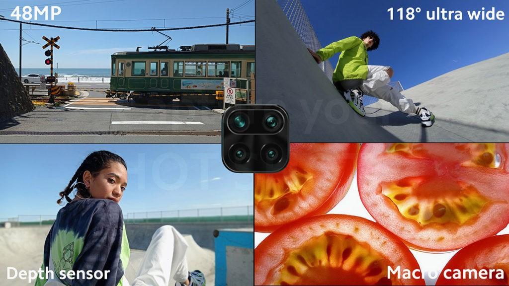 Камеры Redmi Note 9