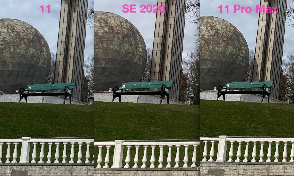 Сравнение фото с камер iPhone SE 2020 и iPhone 11 и 11 Pro Max