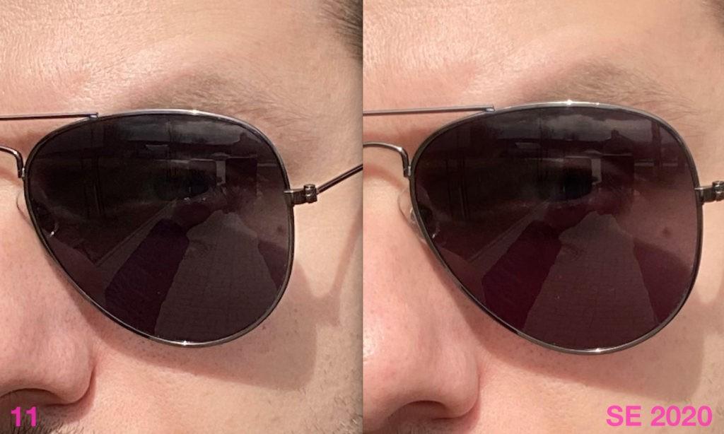 Сравнение качества фото с фронтальной камеры iPhone SE 2020 и iPhone 11 (в портретном режиме)