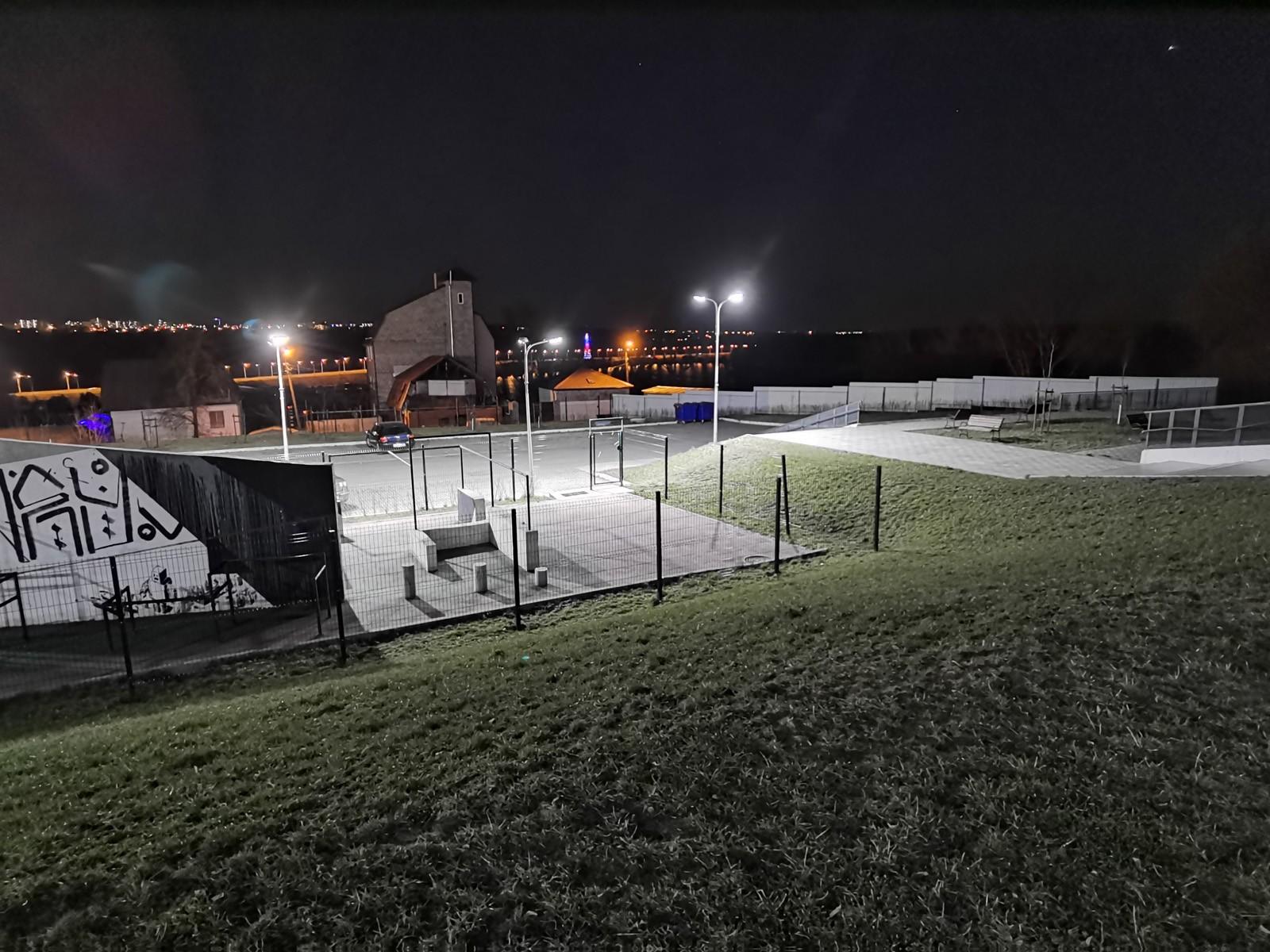 Ночной режим на широкоугольную камеру Huawei P40 Pro