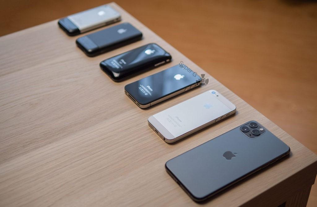 Мои iPhone
