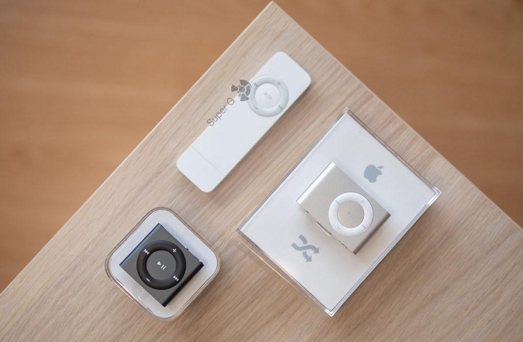 Мои iPod Shuffle