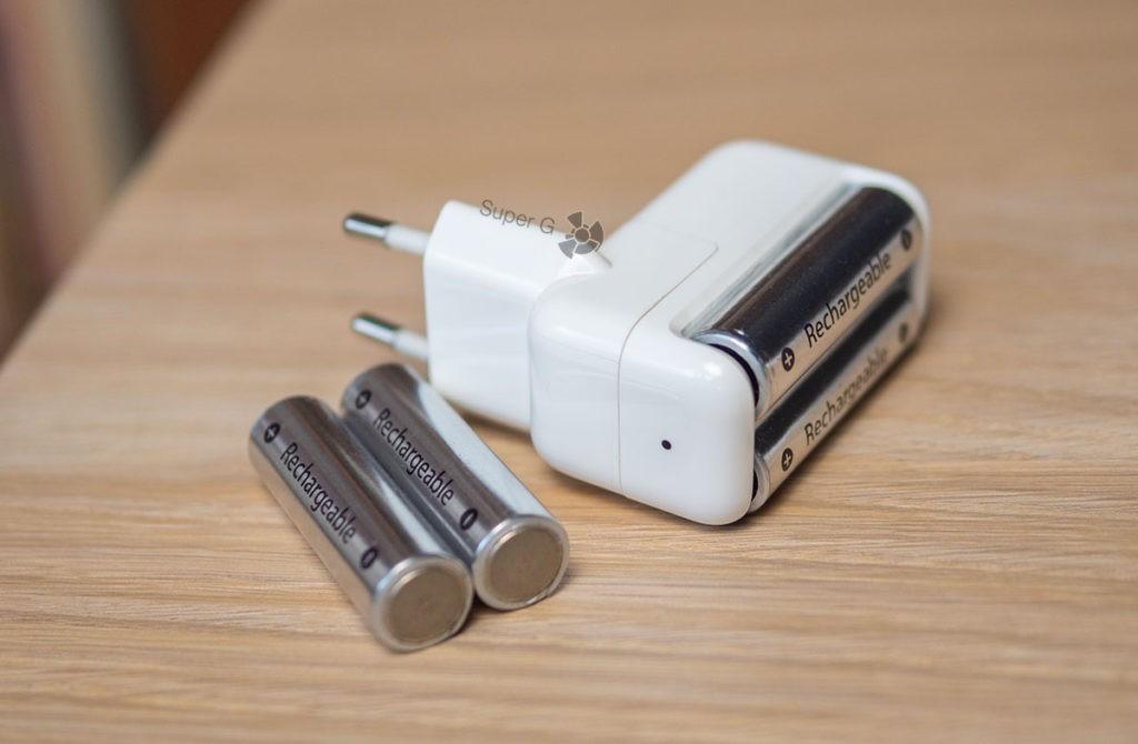 Аккумуляторные батарейки Apple