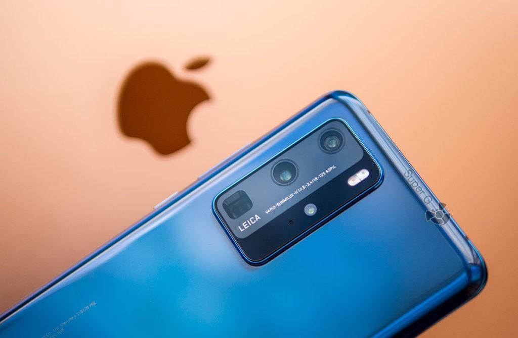 Камера Huawei P40 Pro против iPhone 11 Pro Max