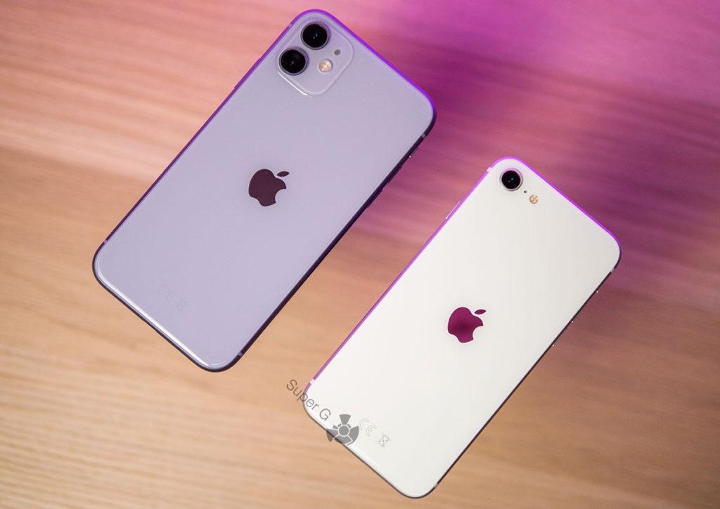 Какой телефон купить: iPhone SE 2 или iPhone 11