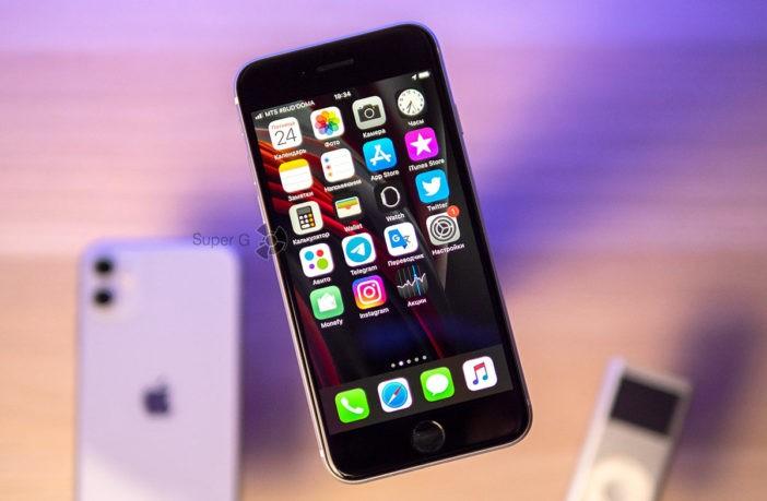 Заменить дисплей iPhone SE 2