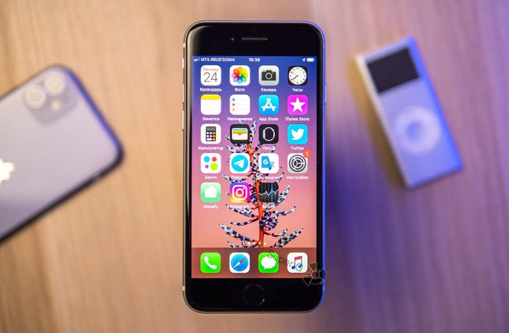 Экран iPhone SE 2