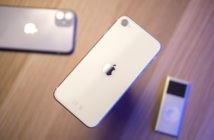 Яблочко на задней спинке iPhone SE 2 сползло на середину