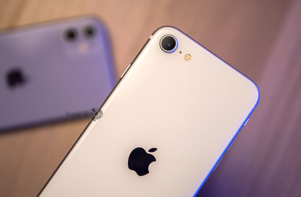 Одна основная камера iPhone SE 2 с примерами фото