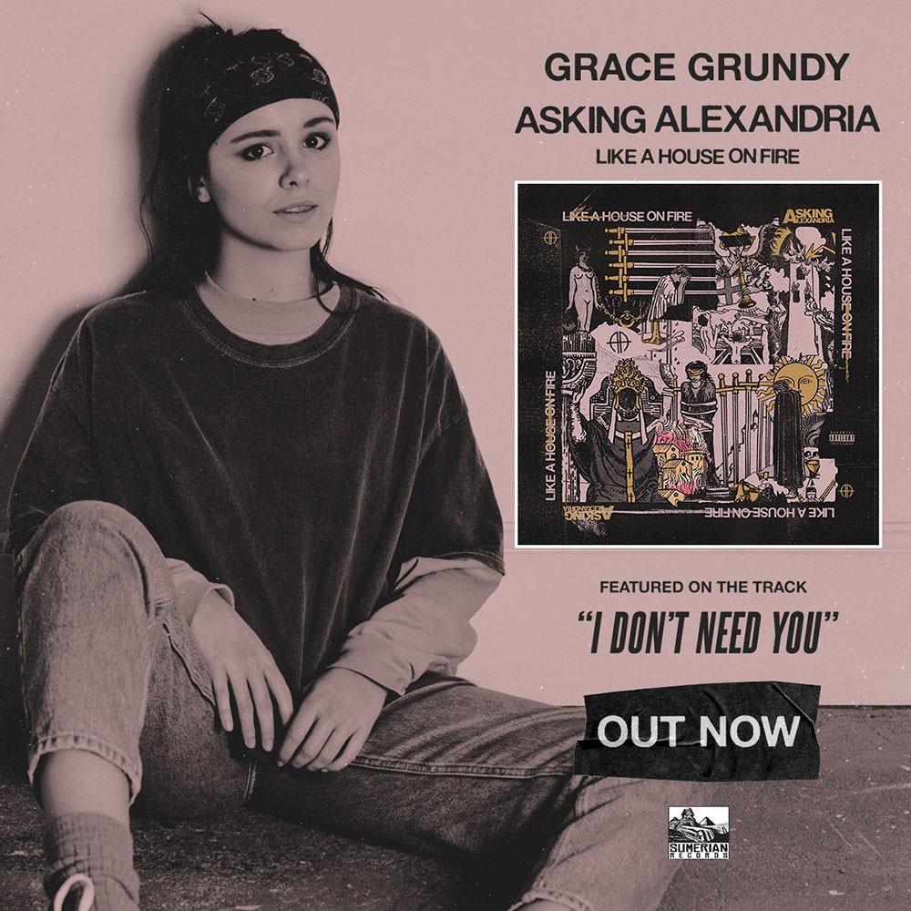 Asking Alexandria и Grace Grundy