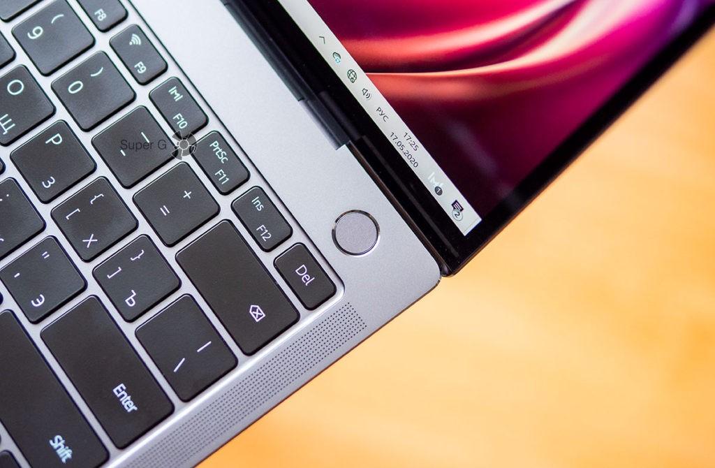 Сканер отпечатков пальцев Huawei MateBook X Pro 2020