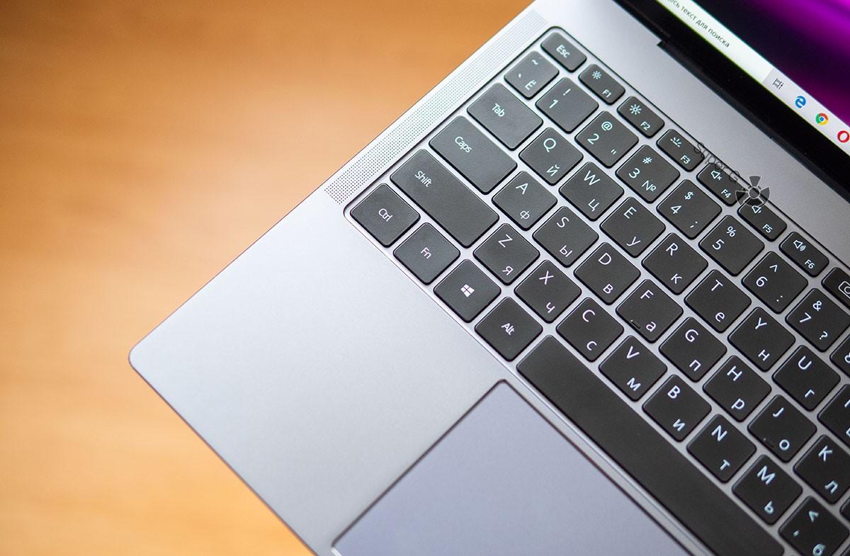 Удобные клавиши Huawei MateBook X Pro 2020