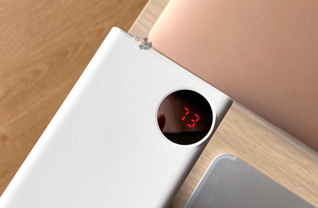 Портативный аккумулятор Baseus 30000 ЖК экранчик