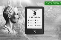 ONYX BOOX Caesar 4 — самая доступная читалка в линейке