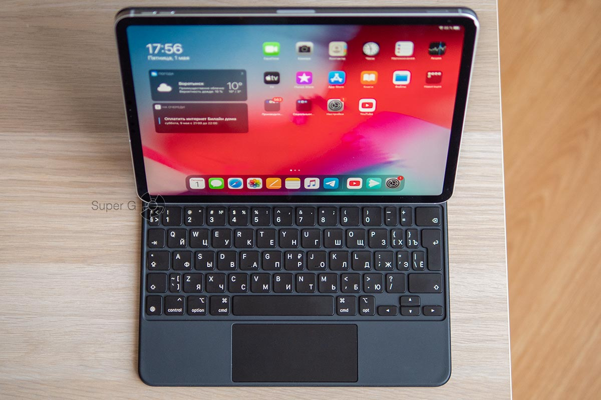 Magic Keyboard для iPad Pro 11