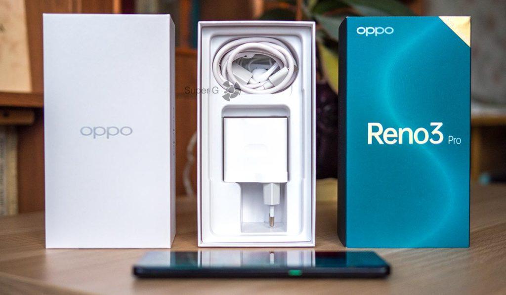 Комплектация OPPO Reno 3 Pro