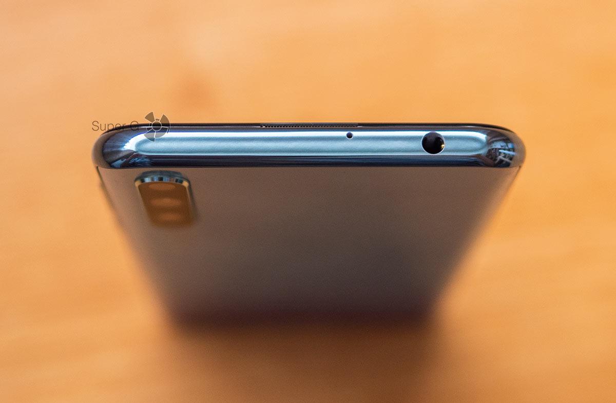Разъём для наушников Huawei Y8p