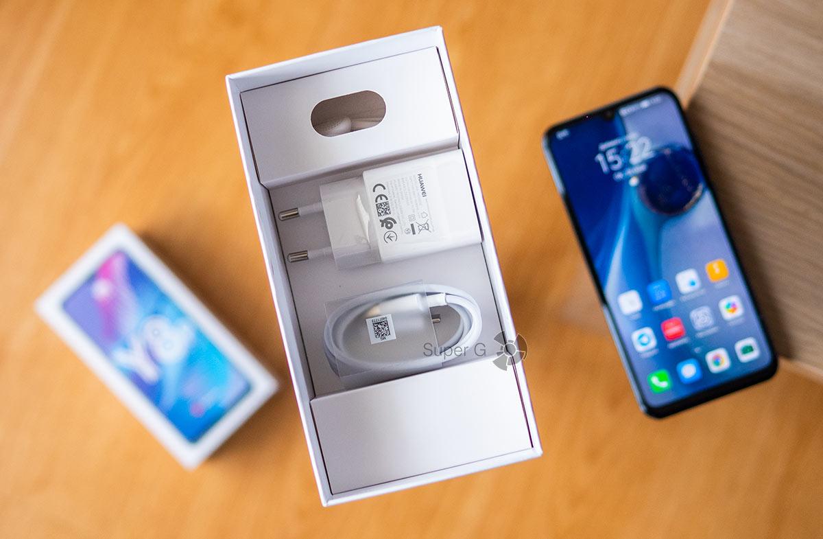 Комплектация Huawei Y8p