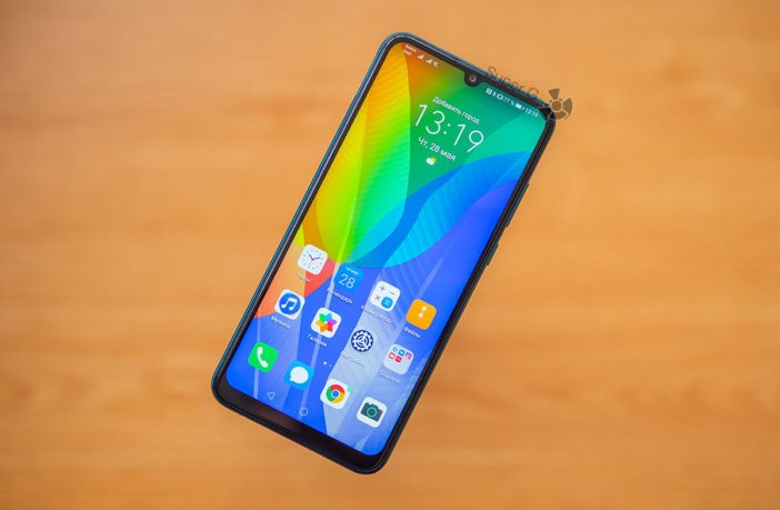 Обзор Huawei Y6p