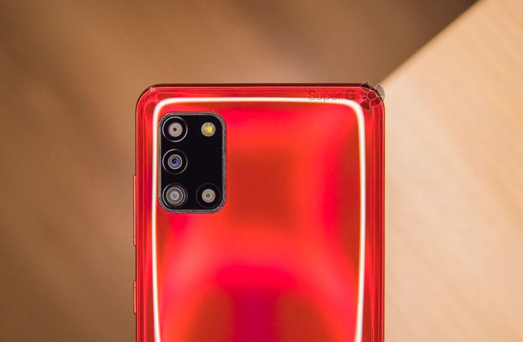 Камеры Samsung Galaxy A31