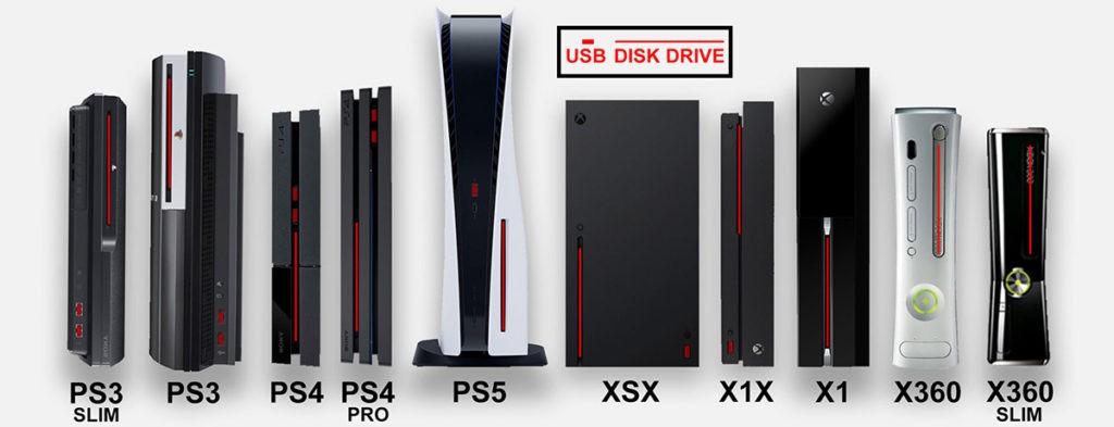Размеры Sony PlayStation 5