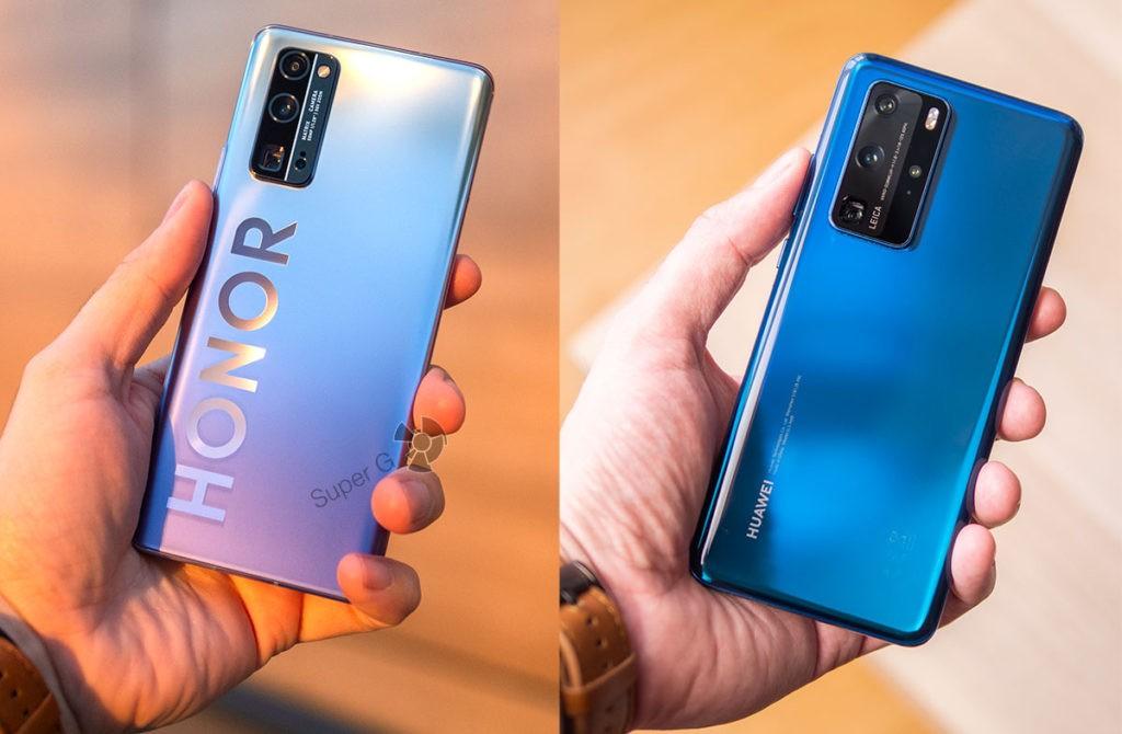 Сравнение камер Honor 30 Pro+ и Huawei P40 Pro