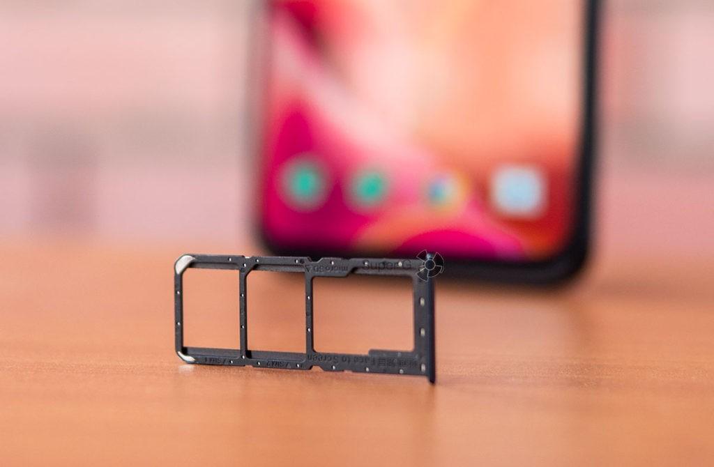 SIM-карты и Micro SD лоток в OPPO A72