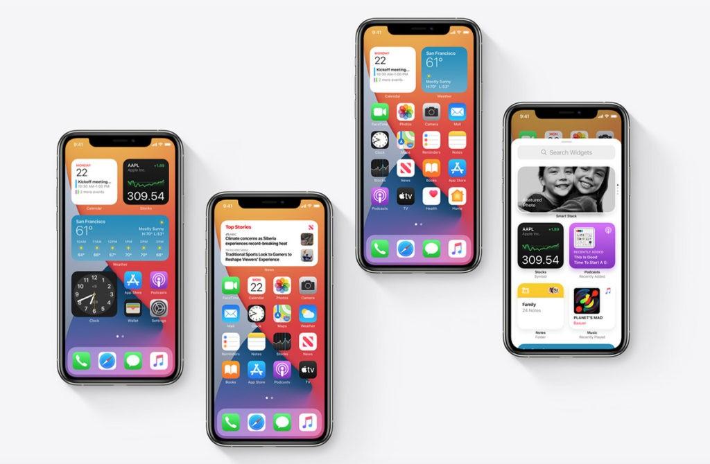 Виджеты iOS 14 как работает
