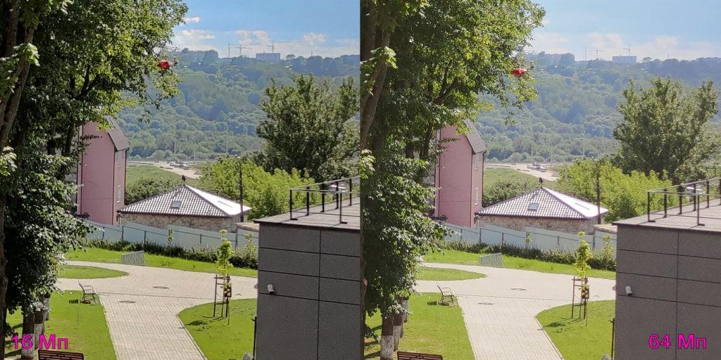 Сравнение 16 и 64 Мп режима съёмки на ASUS ROG Phone 3