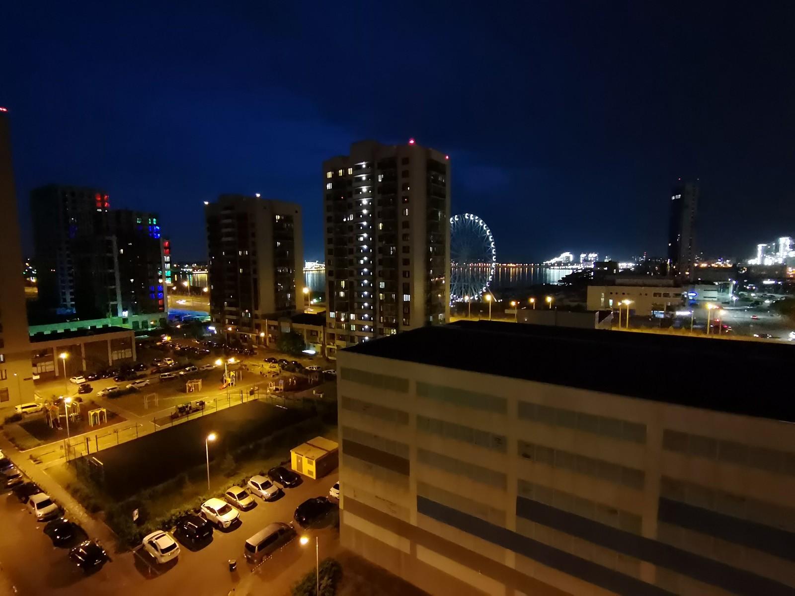 Honor 30S Ночное фото с широкоугольной камеры