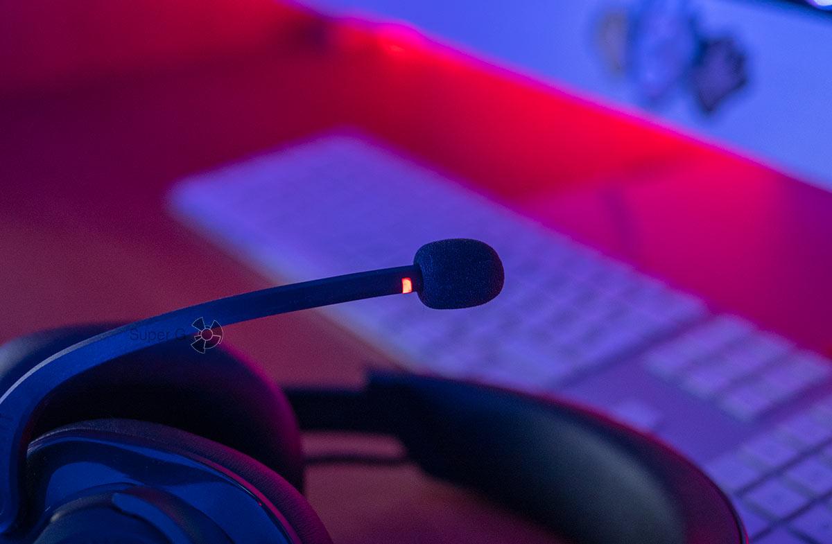 JBL Quantum 600 микрофон