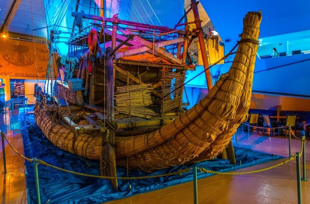 Лодка плот KON-TIKI