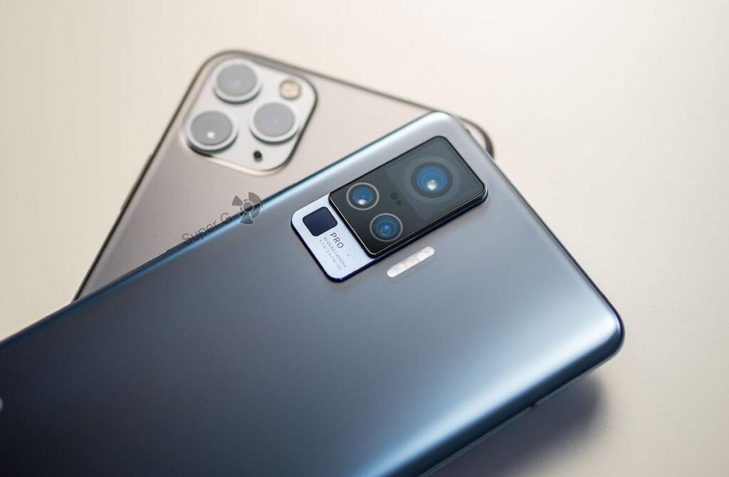 iPhone 11 Pro Max сравнение камер примеры Vivo X50 Pro