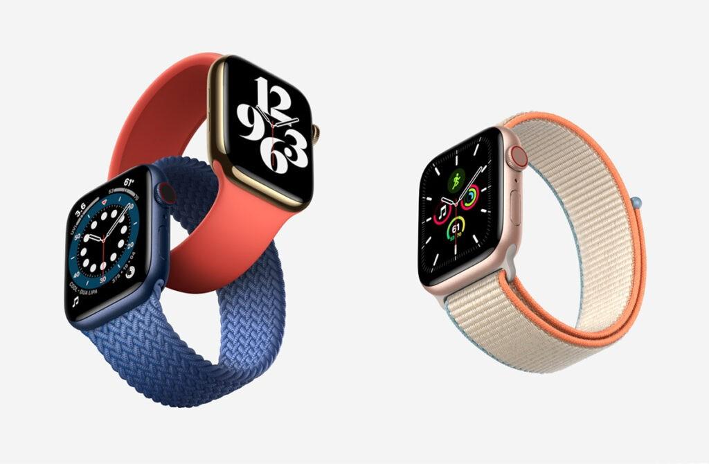 Apple Watch SE отличия от AW 6
