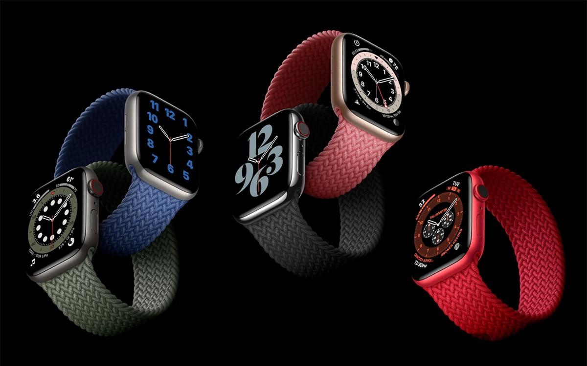 Apple Watch Seires 6 mono silicon 2