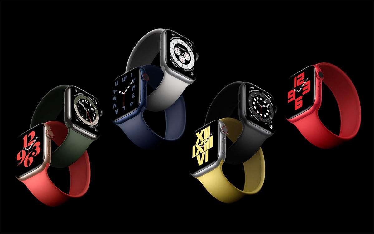 Apple Watch Seires 6 mono silicon