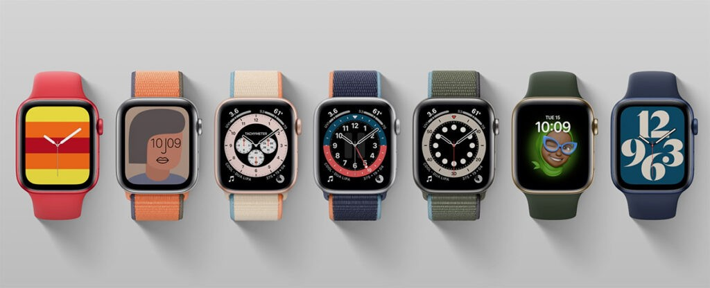 Apple Watch Seires 6 новые циферблаты установить