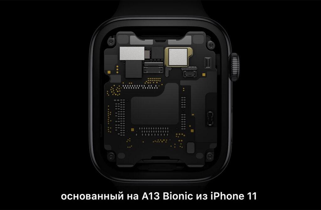 Apple Watch Seires 6 характеристики