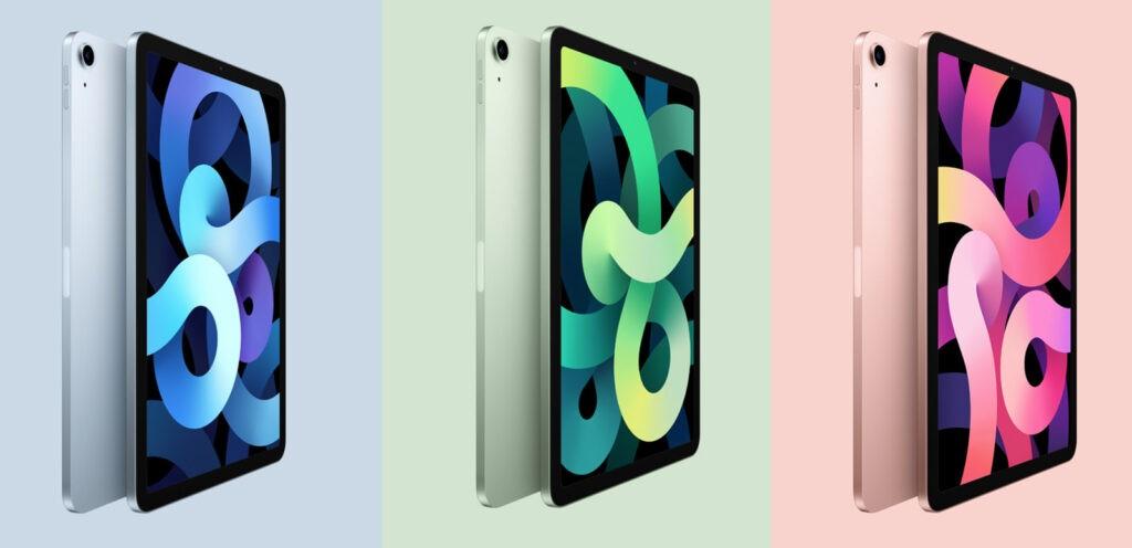 Apple iPad Air 2020 цвета