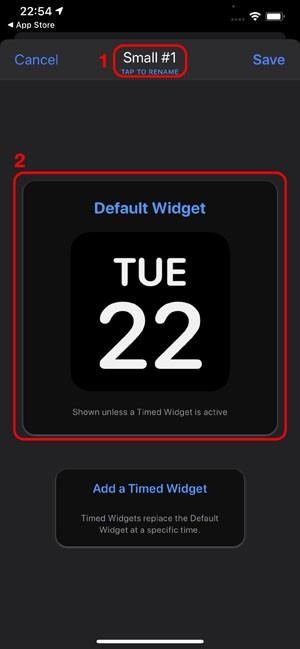 Бесплатно создать виджет в Как создать виджет в Widgetsmith