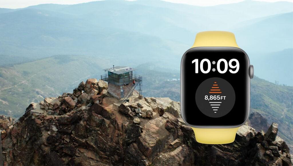 Высотомер Apple Watch 6
