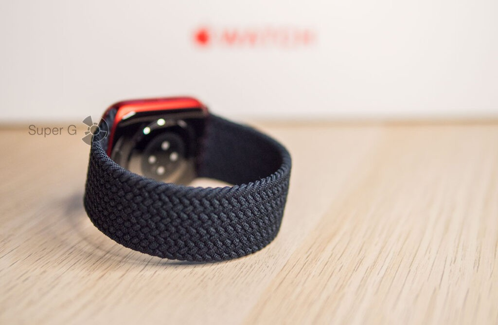 Плетёный монобраслет Apple Watch Series 6