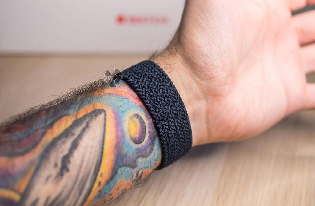 Apple Watch Series 6 плетёный монобраслет