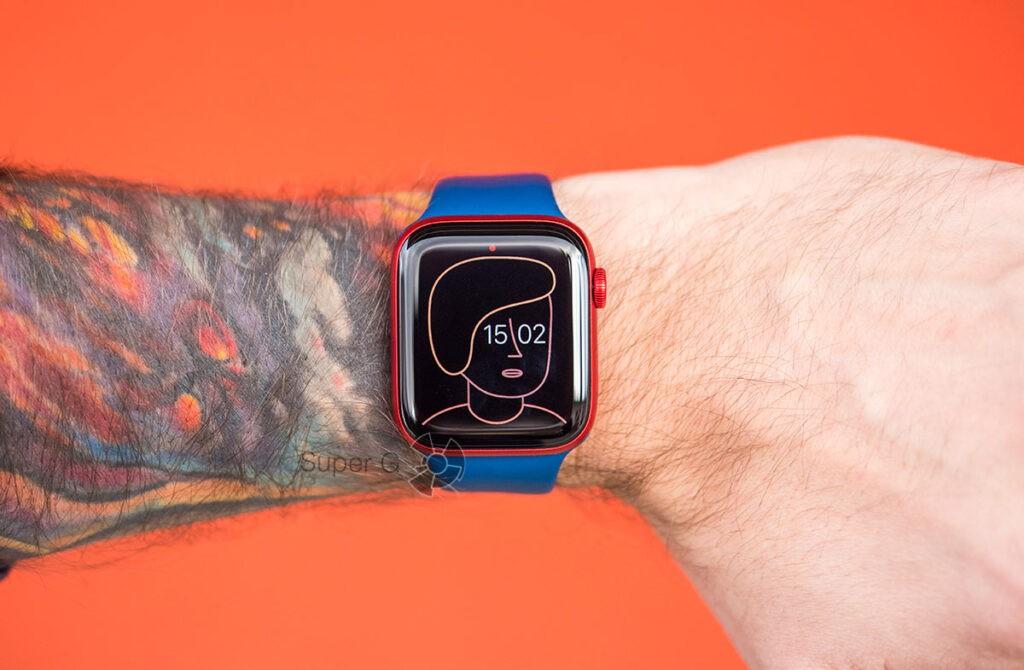 Apple Watch Series 6 всегда активный экран