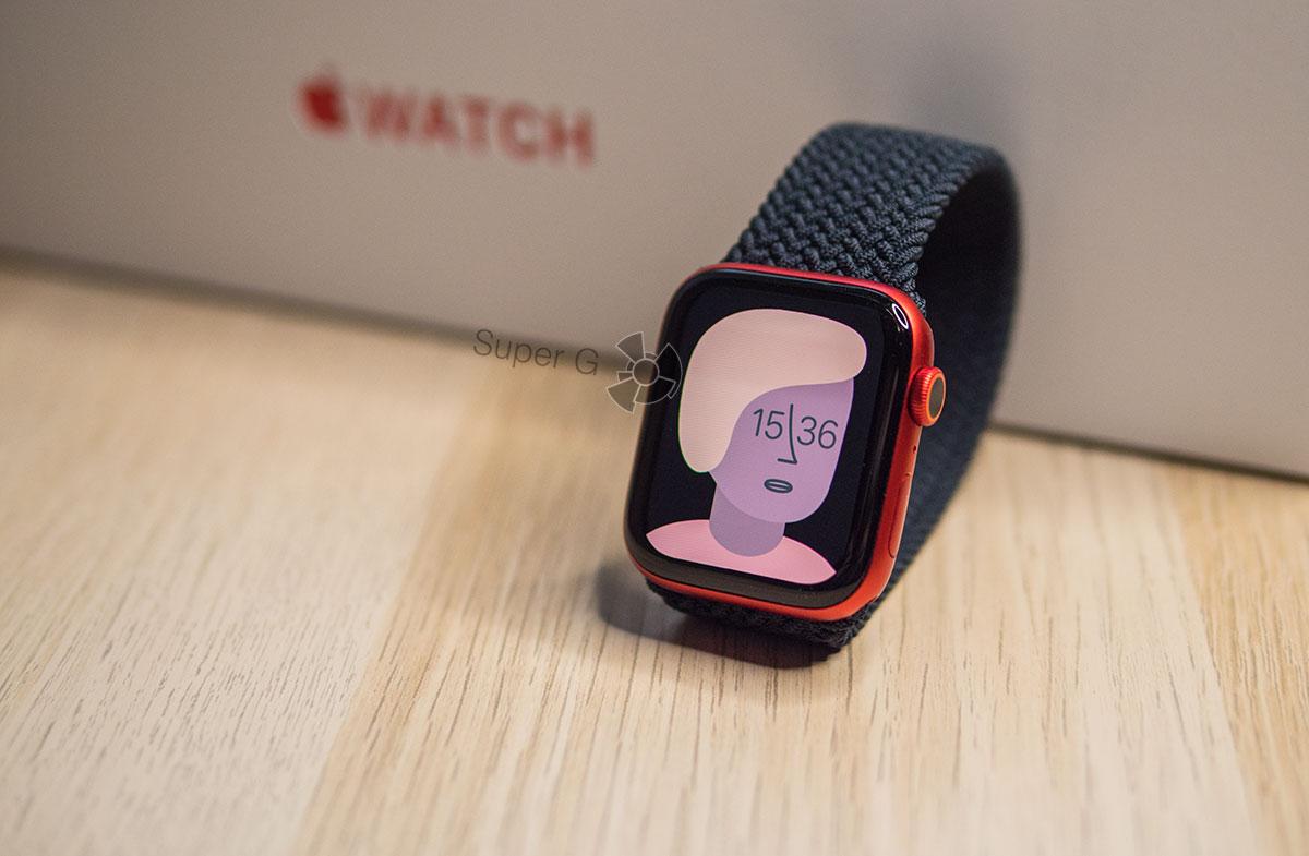 Apple Watch Series 6 новые циферблаты watchOS