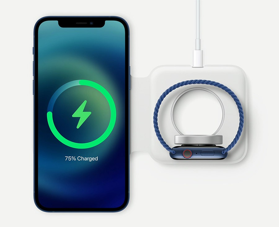 iPhone 12 Magsafe зарядка для Apple Watch