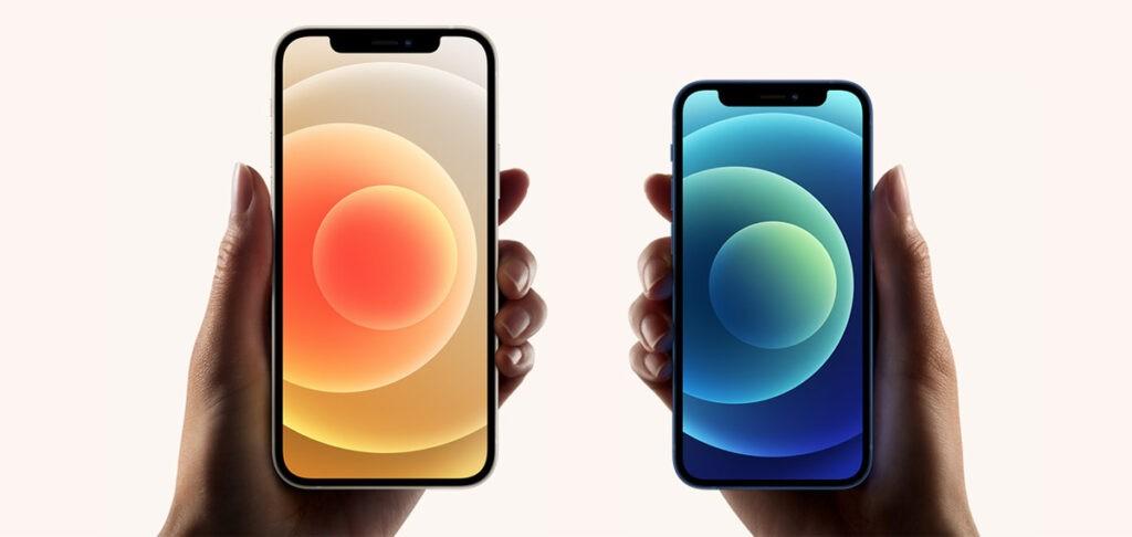 iPhone 12 mini и iPhone 12